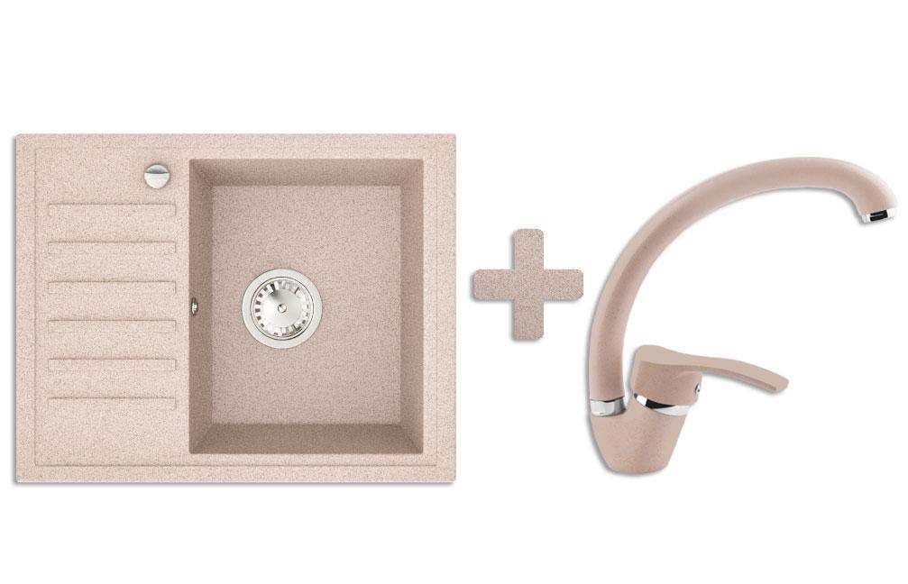Кухонна мийка VALENTINA Gr Master авена + Кран