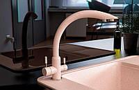 Смеситель кухонный с подключением к фильтру KAHER VENECIA 08 авена