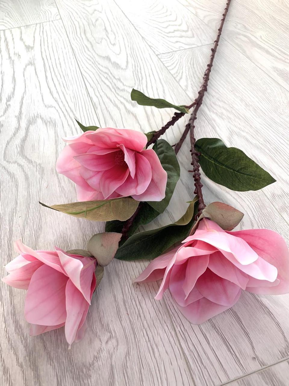 Магнолия декоративная розовая ( латекс 95 см )