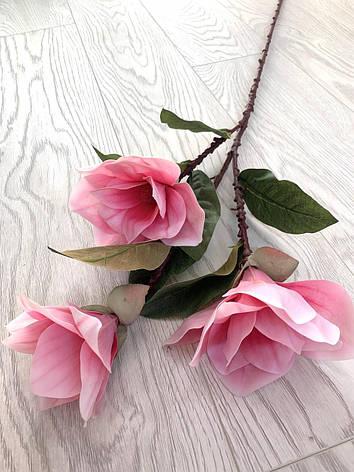 Магнолия декоративная розовая ( латекс 95 см ), фото 2