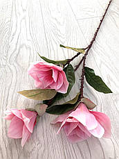 Магнолия декоративная розовая ( латекс 95 см ), фото 3
