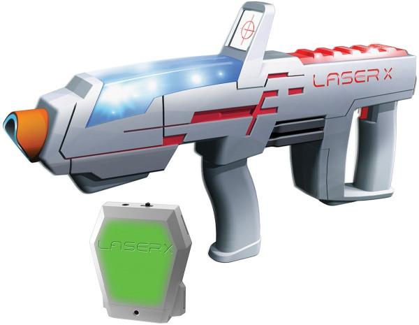 Игровой набор для лазерных боев - Laser X Pro для двух игроков (2 бластера, 2 мишени)