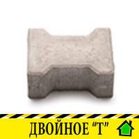 "Тротуарная плитка ""Двойное Т без фаски"", 70мм"