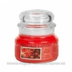 Ароматическая свеча Village Candle Ягодный цвет (время горения до 55 ч), фото 2