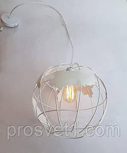 Светильник подвесной один плафон 9170/1 белая Melody