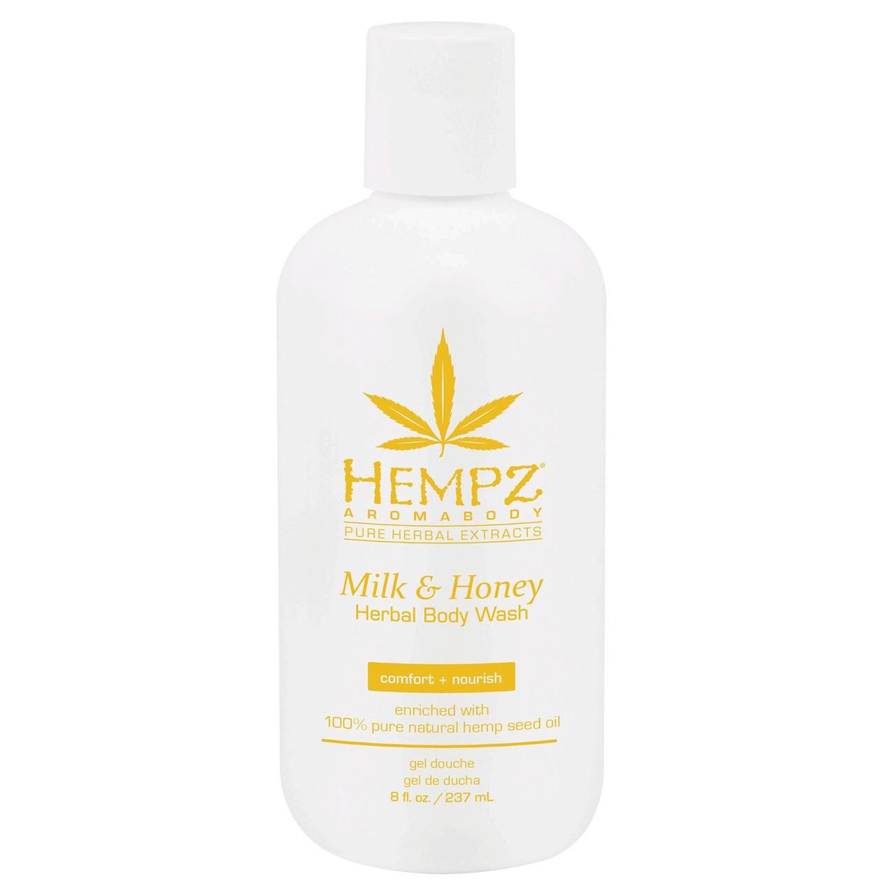 Гель для душа Молоко и Мёд Hempz Milk And Honey Herbal Body Wash 237 мл