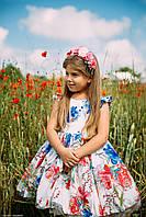 """Модель """"ПІВОНІЯ"""" - дитяча сукня / дитяче плаття"""