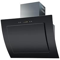 Ventolux Aurora 80 black glass наклонная кухонная вытяжка 800 мм. черное закаленное стекло