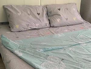 Красивый комплект постельного белья бязь  Голд