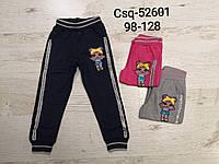 Спортивные штаны для девочек оптом, Seagull, 98-128 см,  № CSQ-52601