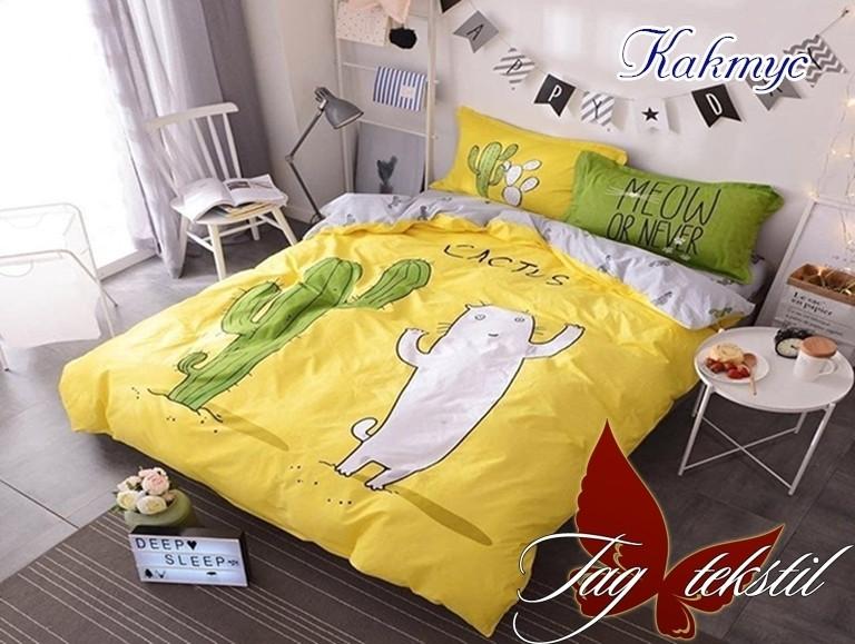 Постельное белье для детей TM TAG/1.5-спальные с компаньоном Кактус