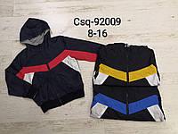Двухсторонние ветровки для мальчиков оптом, Seagull, 8-16 лет,  № CSQ-92009