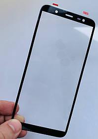 Стекло корпуса для Samsung J810 Galaxy J8 (2018) черное