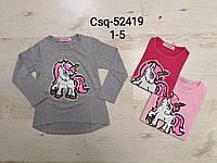 Реглан для девочек оптом, Seagull, 1-5 лет,  № CSQ-52419