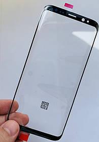 Стекло дисплея для Samsung G955 Galaxy S8 Plus черное