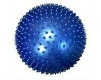 Мяч для фитнеса массажный (фитбол с шипами) 75 см, фото 1