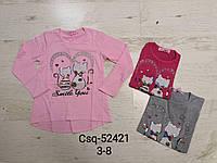 Реглан для девочек оптом, Seagull, 3-8 лет,  № CSQ-52421