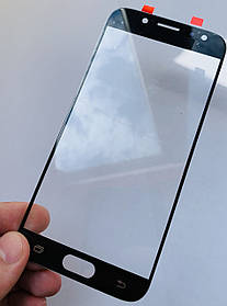 Стекло корпуса для Samsung J730 Galaxy J7 (2017) черное