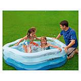 """Детский надувной бассейн Intex 56495 с надувным дном """"Звезда"""", бассейны Интекс, фото 2"""