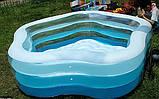 """Детский надувной бассейн Intex 56495 с надувным дном """"Звезда"""", бассейны Интекс, фото 5"""