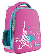 Рюкзак школьный каркасный 1Вересня Н-12 Love Рaris  558025, фото 1