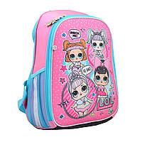 Рюкзак школьный каркасный H-27 LOL Sweety  Yes 558099 для девочки, фото 1