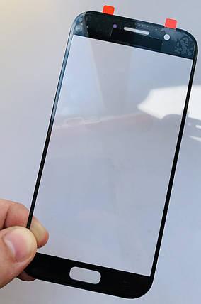Стекло дисплея для Samsung A520 черное, фото 2
