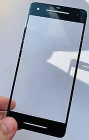 Скло дисплея для Pixel 2 чорне