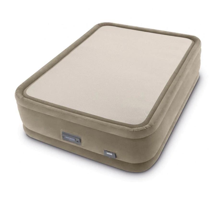 Надувная кровать Intex 64478, 152 х 203 х 51, встроенным электронасос. Двухспальная