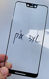 Скло дисплея для Pixel 3 XL чорне