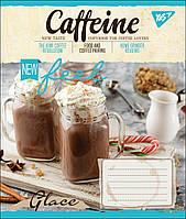 Тетрадь 18 листов клетка А5 набор 25 шт. в упаковке YES CAFFEINE 764672