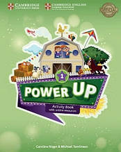 Тетрадь Power Up 1 Activity Book with Online Resources and Home Booklet (Caroline Nixon). Cambridge