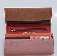 Жіночий шкіряний гаманець Balisa PY-A137 пінк Шкіряні гаманці і портмоне оптом Одеса 7 км, фото 4