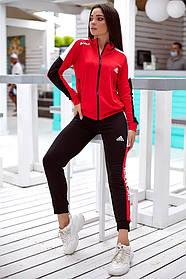 Спортивний костюм жіночий з двуніткі 47-2351