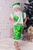 Маскарадный костюм Гномик цвет зеленый