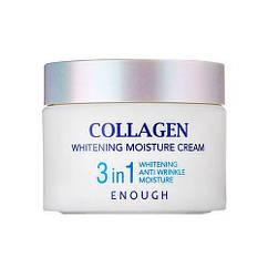 Крем для лица увлажняющий с коллагеном 3 в 1 Enough Collagen Whitening Moisture Cream 3 in 1