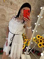 Летнее платье сводного кроя
