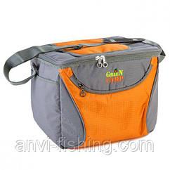 Сумка-холодильник GREEN CAMP - оранжевая - 15 литров