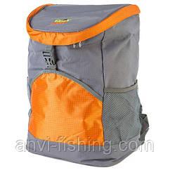 Сумка-холодильник-рюкзак GREEN CAMP - оранжевая - 19,8 литров
