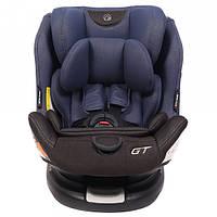 Автокресло Rant GT isofix Top Tether 0-36 кг Черный с синим 4630053752685, КОД: 1629300