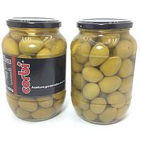 Оливки зеленые гиганты Corbi Aceituna gordal sabor anchoa с косточкой (835г) Испания