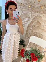 Летнее платье-майка