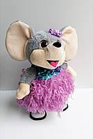 Поющая и танцующая мягкая игрушка 1215 Мышка в пушистой юбке