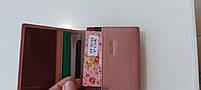Женский кожаный кошелек Balisa PY-D133 пинк Кошельки оптом · Женские кожаные кошельки оптом, фото 5