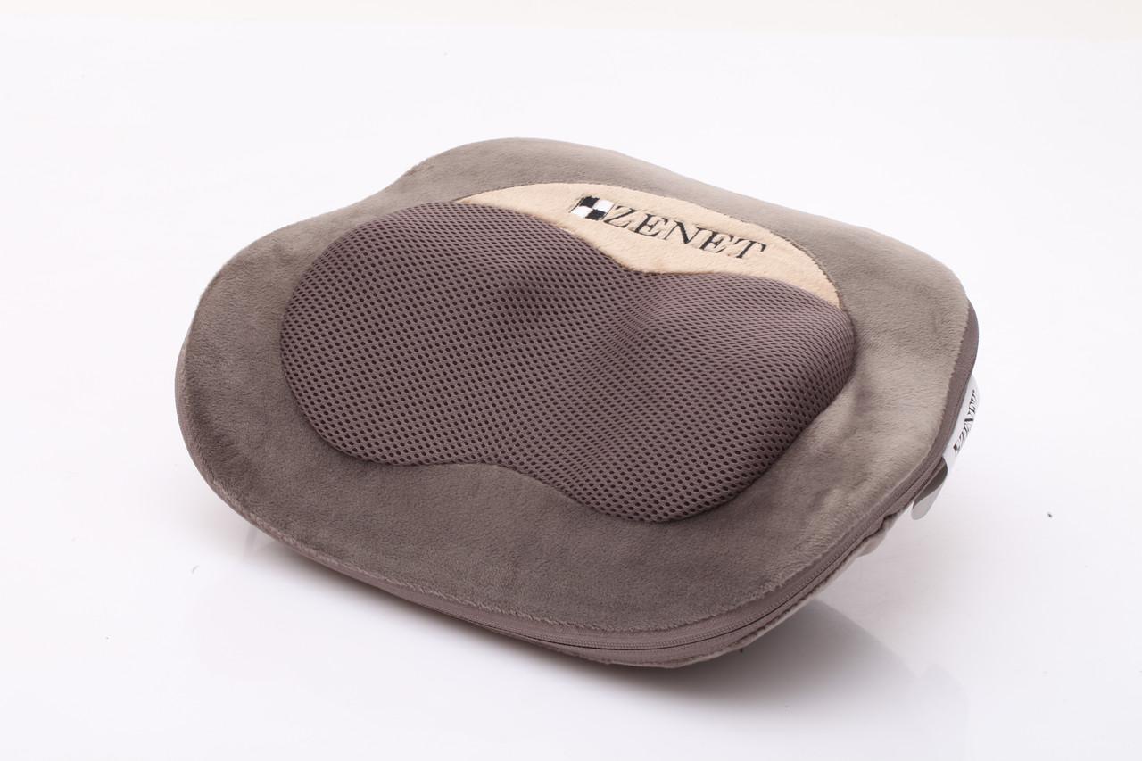 Массажная подушка Zenet ZET-725 с инфракрасным прогревом