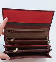Женский кожаный кошелек Balisa PY-D133 бордо Кошельки оптом · Женские кожаные кошельки оптом, фото 3