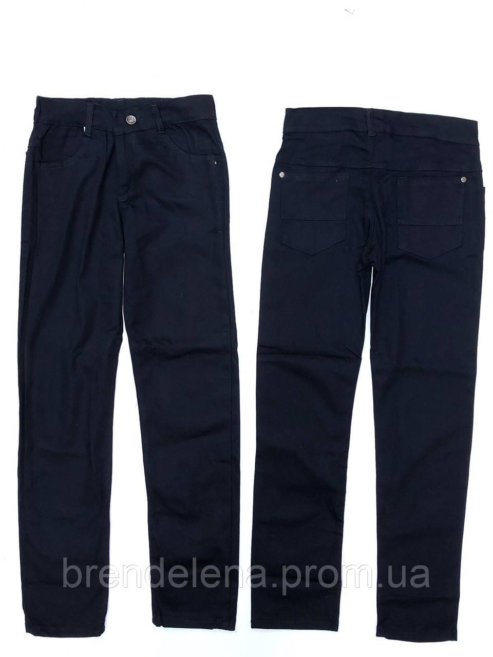 Котонові чорні штани підліткові (11-15 років.)