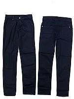 Коттоновые черные брюки подростковые (11-15 лет.)
