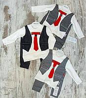 Детский костюм 3-12 мес комплект для новорожденных на мальчиков Турция оптом