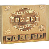 Эрудит Элит, украинская версия, настольная игра Arial (10130004)